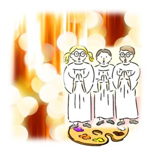 white robes image