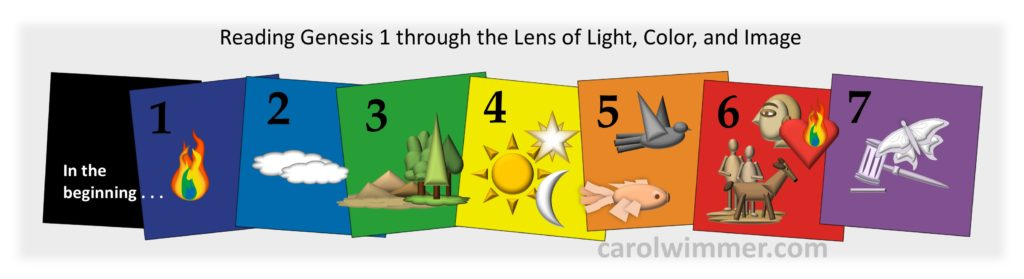 Reading Through the Lens of Light, Color and Image